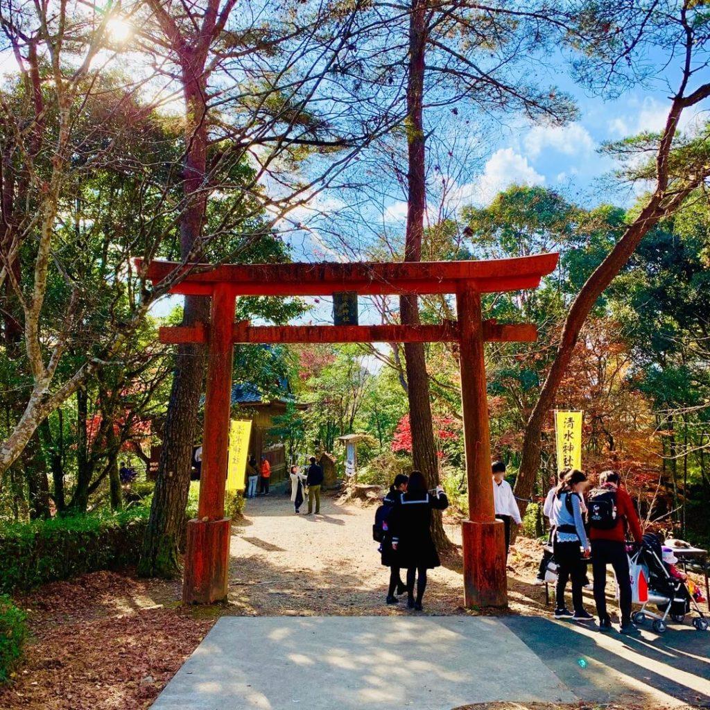 曽木の滝公園もみじ祭り 清水神社
