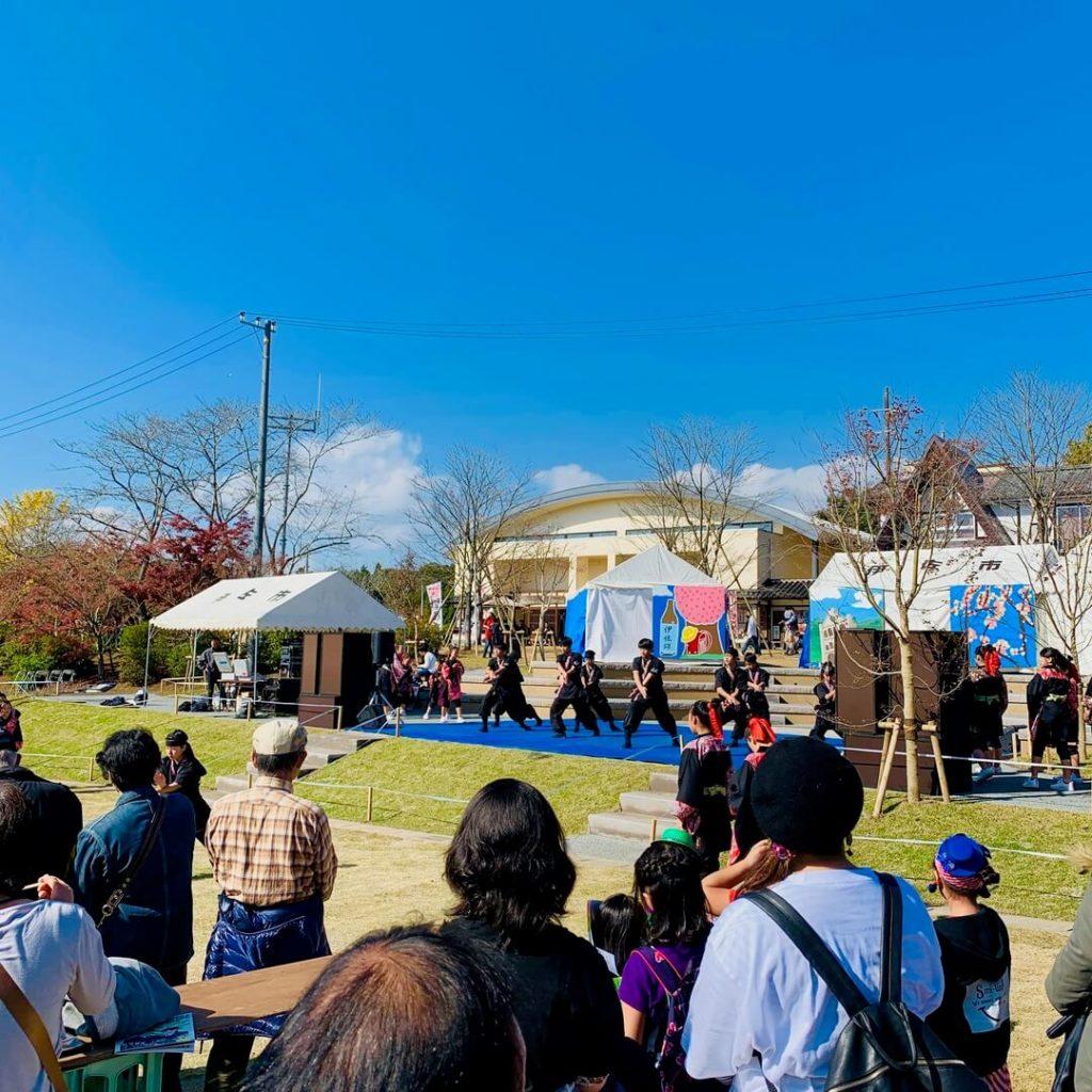 曽木の滝公園もみじ祭り ステージイベント
