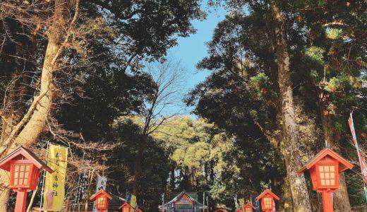 【郡山八幡神社】伊佐の焼酎神社に参拝しよう!御朱印もあるよ。
