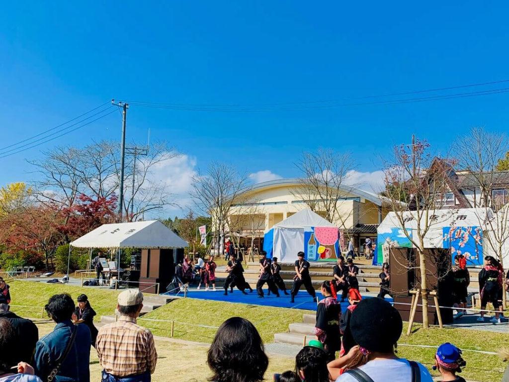 伊佐市_曽木の滝_曽木の滝公園もみじ祭り_ステージイベント