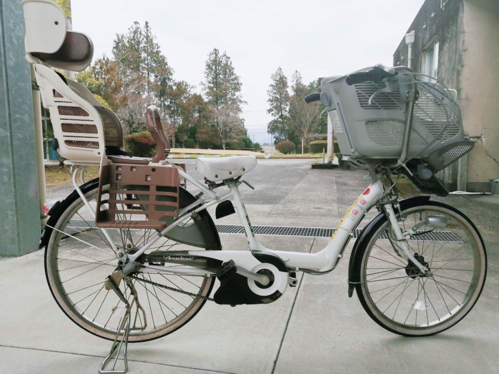伊佐市大口子育て支援センター「ルピナス」_3人乗り電動自転車