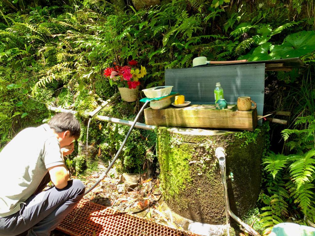 山野 水汲場