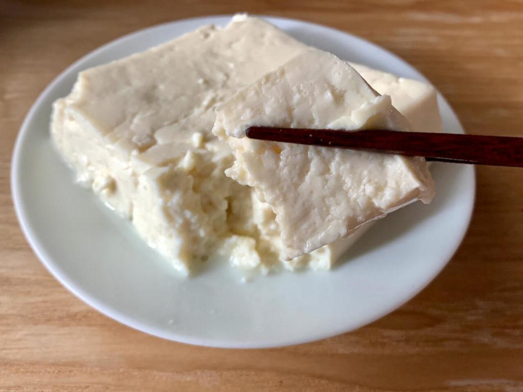 JA木綿豆腐断面