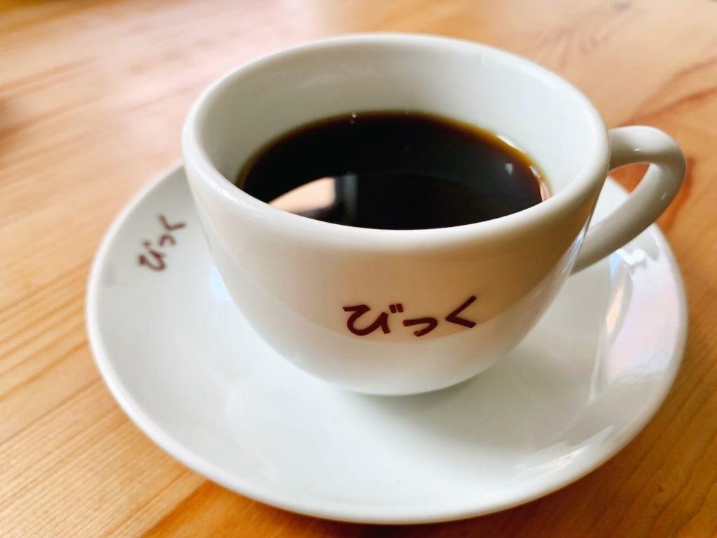 伊佐市_喫茶びっく_コーヒーカップ