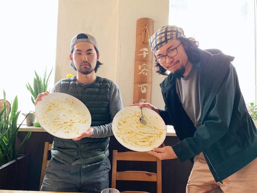 伊佐市_喫茶びっく_カツカレー完食