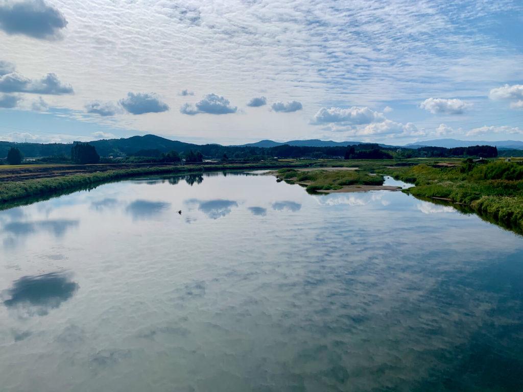川内川と空