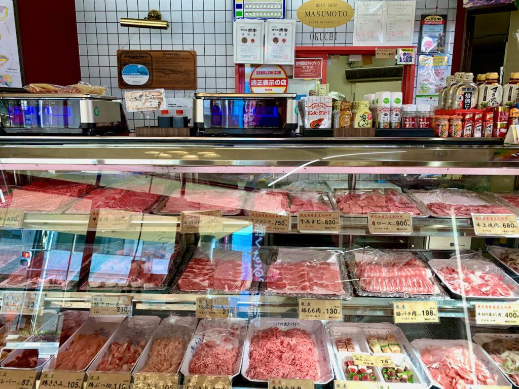 増元精肉店 お肉
