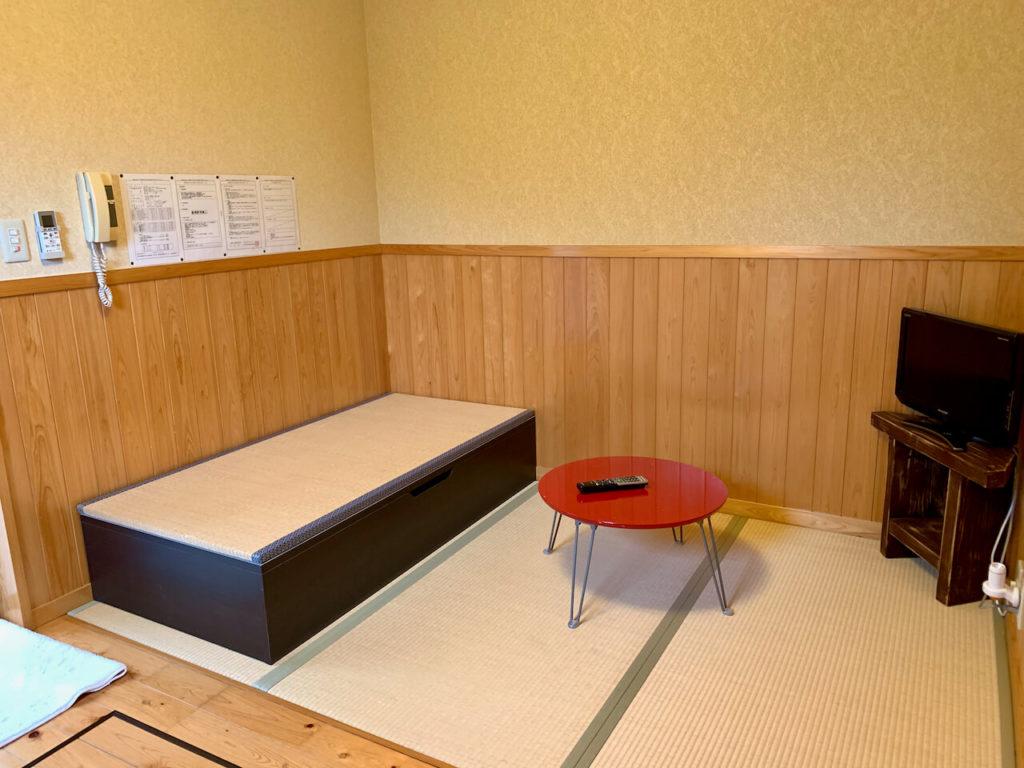 曽木の滝温泉部屋