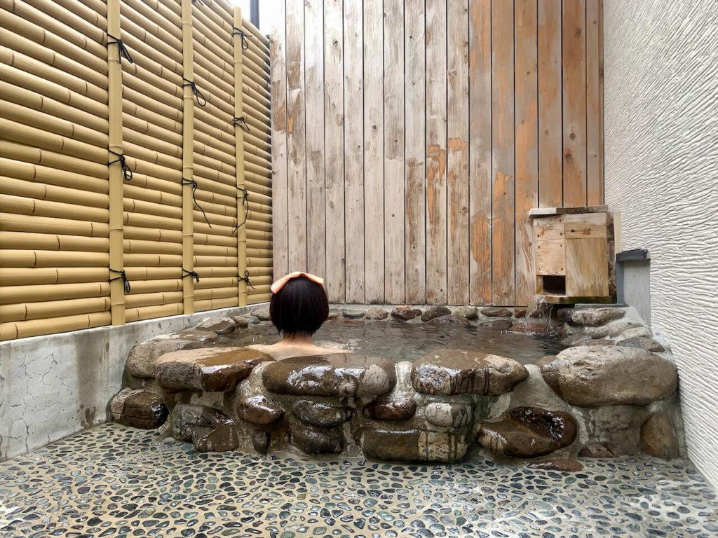曽木の滝温泉露天風呂
