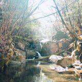 鹿児島県・熊本県・宮崎県の三県境_そばの川